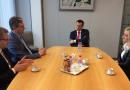 Spotkanie władz Województwa Świetokrzyskiego nt. współpracy gospodarczej na terenie Belgii